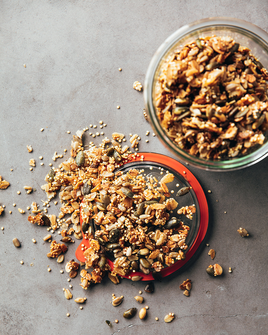 Locaal Sweet clover infused quinoa and multigrain flakes granola