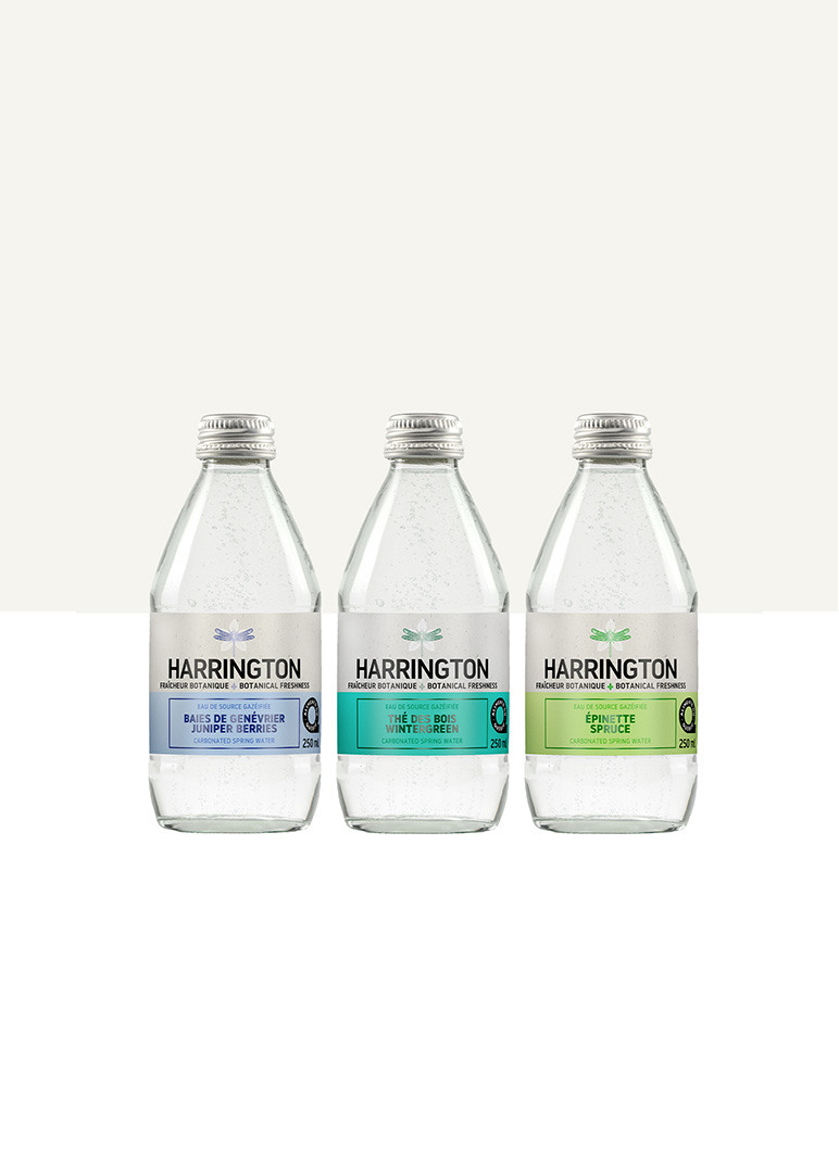 Harrington Boreal carbonated spring water
