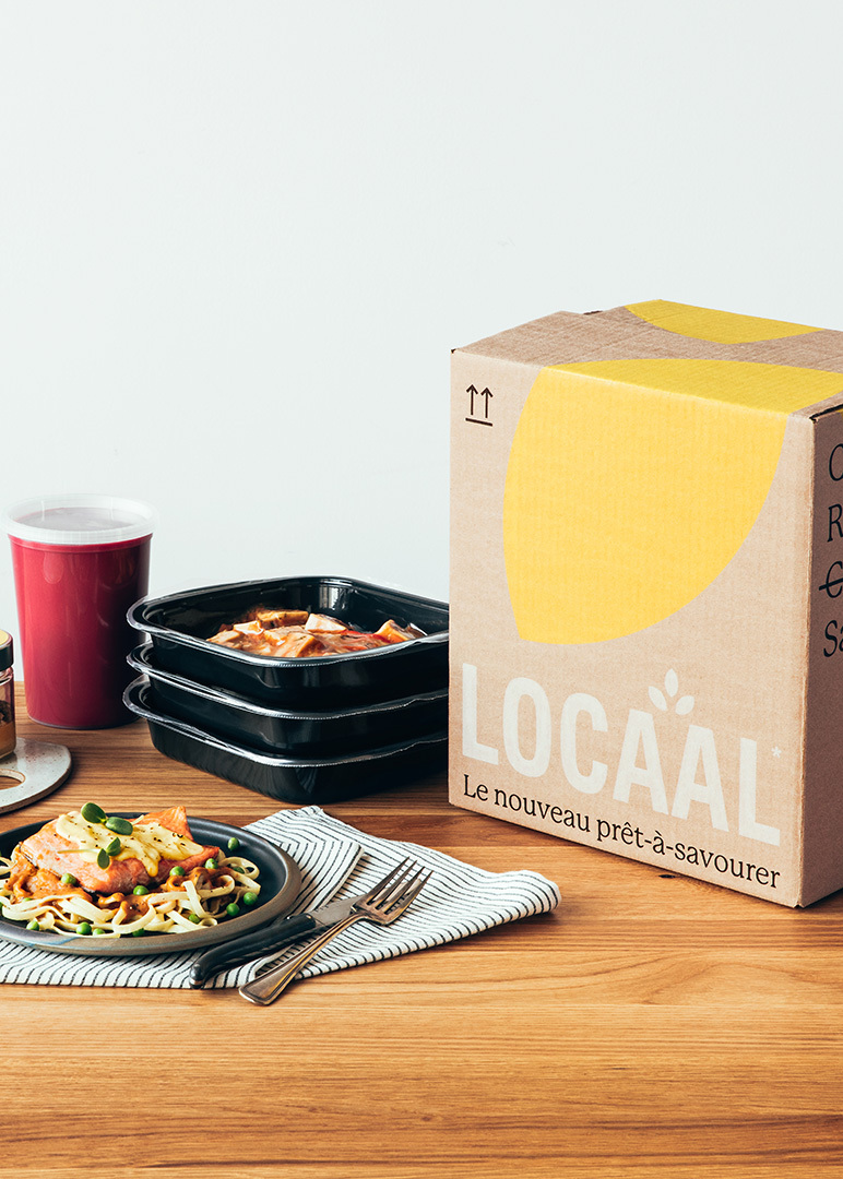 Locaal Cocooning meal box for four
